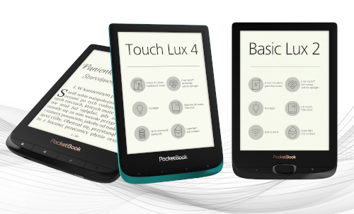 PocketBook Basic Lux 2, PocketBook Touch Lux 4