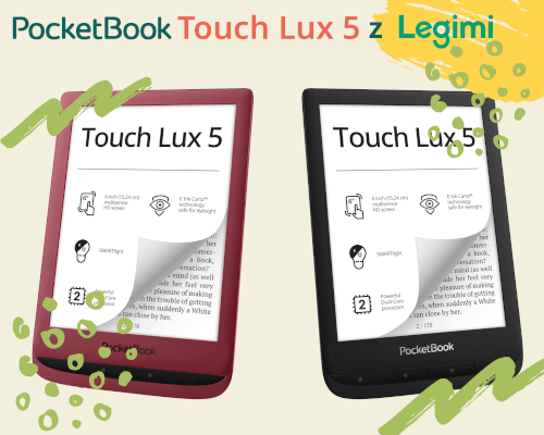 Czytnik e-book PocketBook Touch Lux 5